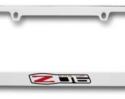 Corvette Elite License Frame, 05-13 Z06 505HP