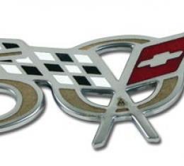Corvette Emblem 50Th Anniversary Side Fender, 2003