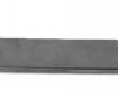 Corvette T-Top Stainless Steel Molding, Side, Right, 1968-1976