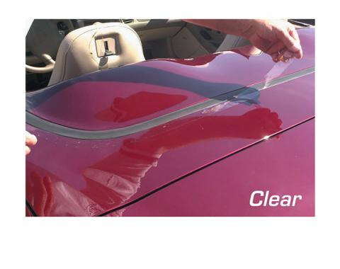 Corvette Deck Lid Protector, Soft Top Clear, 1968-1975