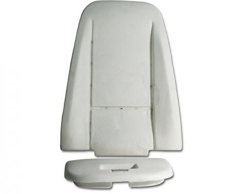 Corvette Seat Foam, Back, 1976-1978