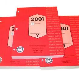 Corvette Service Manual, 2001