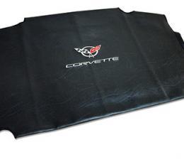 Corvette America 1997-2004 Chevrolet Corvette Embroidered Top Bag Black with Silver C5 Logo 41622