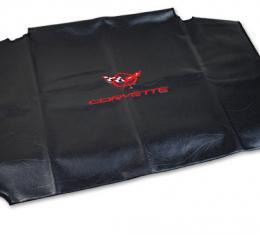 Corvette America 1997-2004 Chevrolet Corvette Embroidered Top Bag Black with Red C5 Logo 41621