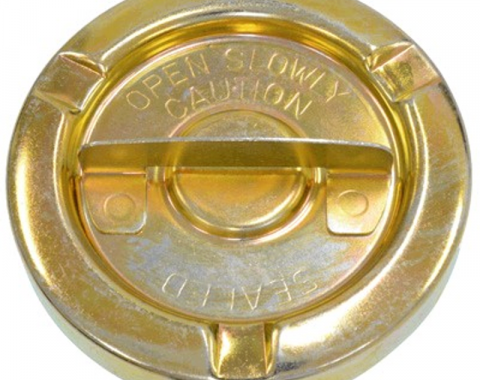 Corvette Gas Cap, Non-Vented, 1970-1974