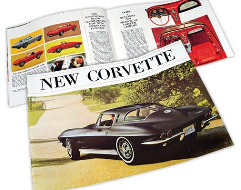Corvette Sales Brochure, 1963