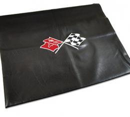 Corvette America 1968-1982 Chevrolet Corvette Embroidered T Top Bags Black with 68 76 Logo 41612