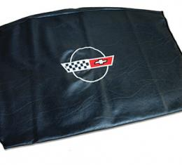 Corvette America 1984-1996 Chevrolet Corvette Embroidered Top Bag Black with 84 90 Logo 41618