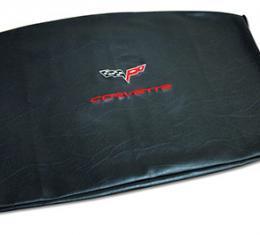 Corvette America 2005-2013 Chevrolet Corvette Embroidered Top Bag Black with Red C6 Logo 41624