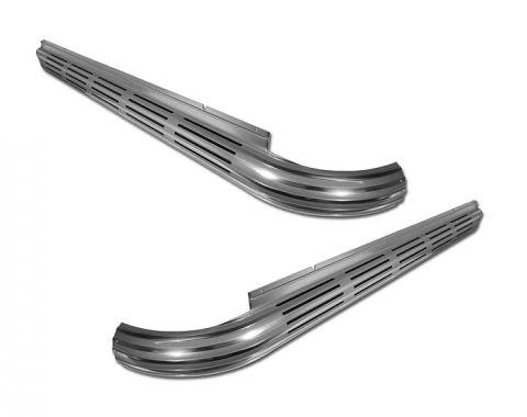 Corvette Side Exhaust Covers, Import, 1965-1967