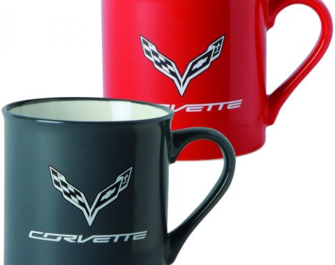 C7 Corvette Zeal Mug Storm Grey