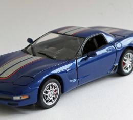Corvette Franklin Mint 1:24 Diecast, Commemorative Edition, 2004