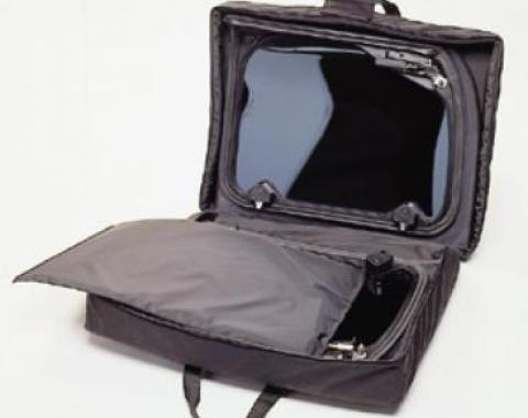 Corvette T-Top Panel Storage Case, Black, 1968-1982