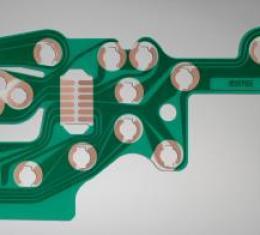 Corvette Dash Cluster Printed Circuit, 1978-1982
