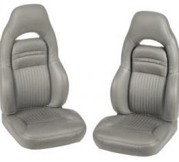 Corvette America 1997-2004 Chevrolet Corvette Leather Seat Covers 100% Leather Sport