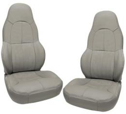 Corvette America 1997-2004 Chevrolet Corvette Leather Seat Covers 100% Leather Standard