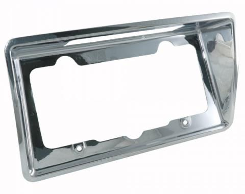 Trim Parts 1968-1973 Corvette License Plate Bezel 5005