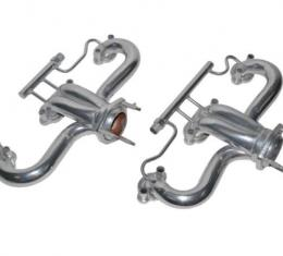 Corvette Headers/Exhaust Manifold, Modified Ceramic Coated with Air, Late 1986-1988