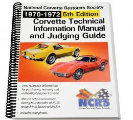NCRS Judging Manual, 5th Edition, 1970-1972