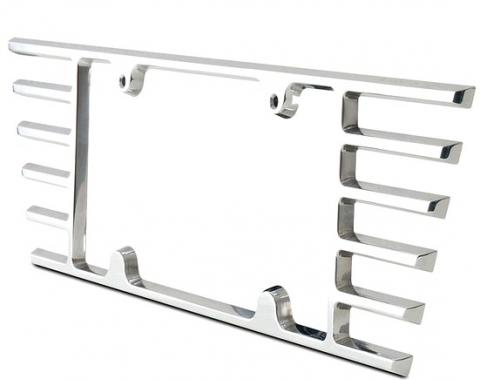 Corvette Billet Open End Rear License Frame, 2005-2019