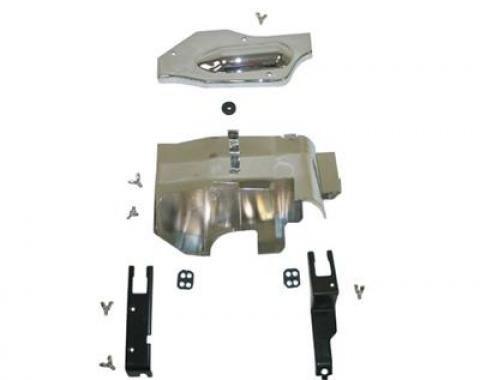 Corvette Ignition Shield Set, 427 13 Piece, 1966