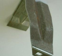 Corvette Rocker Molding Bracket, Front, Right, 1963-1965