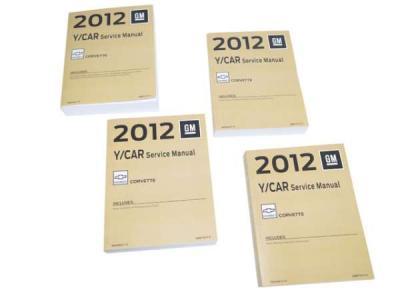 Corvette Service Manual, 2012