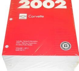 Corvette Service Manual, 2002