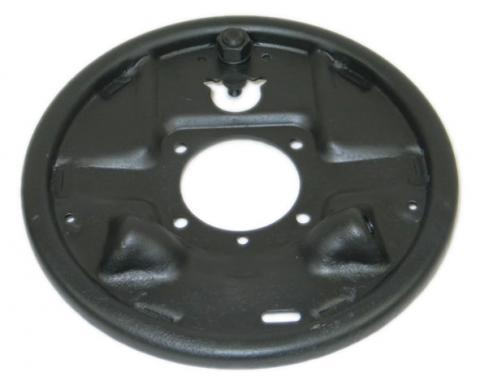 Corvette Brake Drum Backing Plate, Right Rear, USED 1957-1962