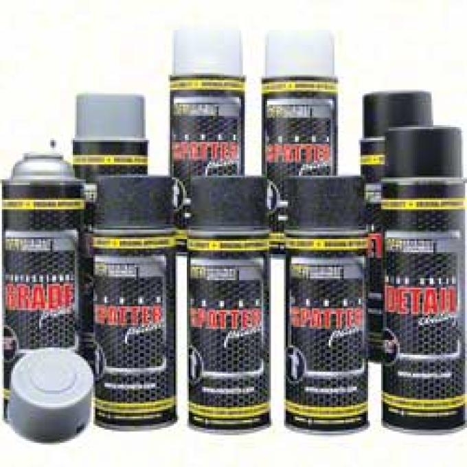 OER Black and Aqua Trunk Refinishing Kit with Self Etching Gray Primer *K51494