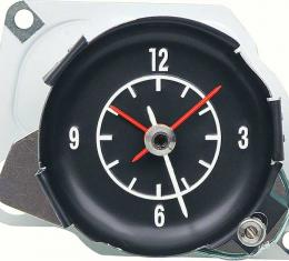OER 1972-74 Corvette In Dash Clock - With White Markings 6262640W
