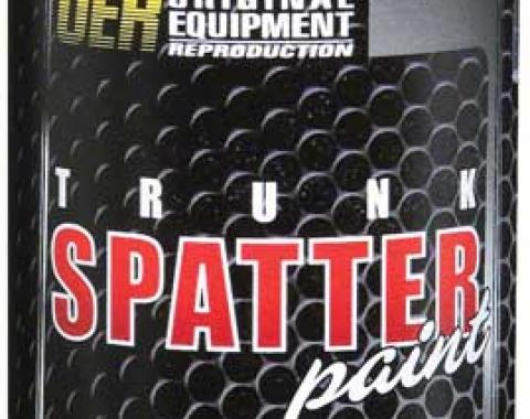 OER Trunk Spatter Paint Clear Topcoat 16 Oz. Can K51497