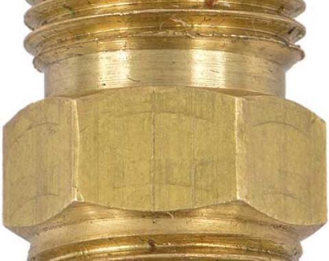 OER 1960-77 GM & Mopar with Saginaw PS Pump - Power Steering Fitting (Brass) 1253580
