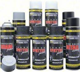 OER Black and Aqua Trunk Refinishing Kit with Standard Gray Primer *K51491
