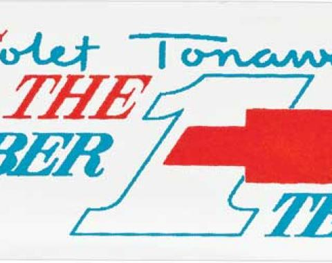 OER Tonawanda #1 Team Valve Cover Decal (OE#212183) 258555