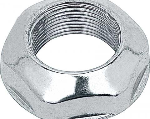 "OER 1969-96 Chrome Flat Style Bezel Nut For Original Antenna Base 11/16"" ID 3943656"