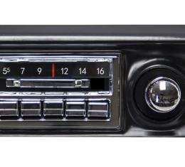 Custom Autosound 1968-1976 Chevrolet Corvette Slidebar Radio