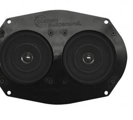 Custom Autosound 1958-1967 Chevrolet Corvette Dual Speakers