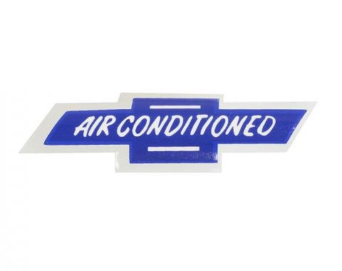 Corvette Decal, Air Conditioning Window, 1963-1965