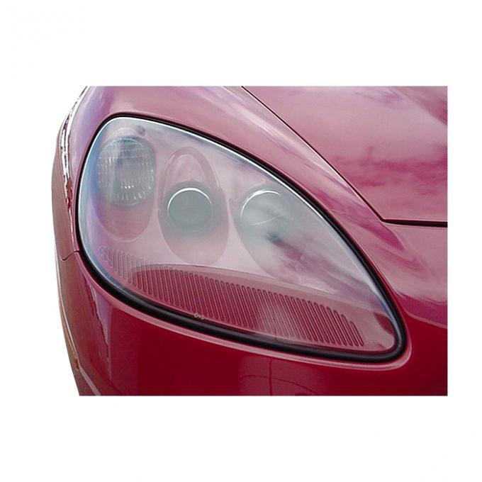 Corvette Headlight Assembly, Black, Right, 2005-2013
