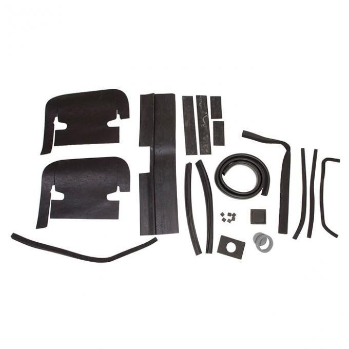 Corvette Engine Compartment Seal Kit, 427 With Air Conditioning, 1967
