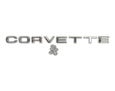 "Corvette Rear Bumper ""Corvette"" Letters, 1974-1975"