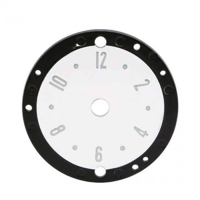 Trim Parts 53-57 Corvette Clock Face, Each 5130
