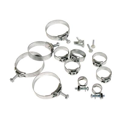 Corvette Heater Hose Clamp Kit, 350 without Air, 1969-1970