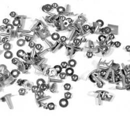 Corvette Side Moulding Mount Kit, with Nuts and Washers, 1956-1961