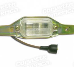 Corvette License Light Assembly, 1972-1973