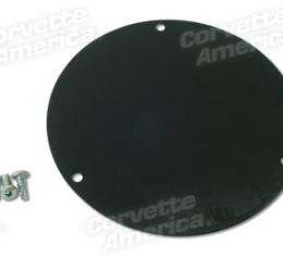 Corvette Air Cleaner Block Off Plate, Non Fuel Injection, 1956-1962